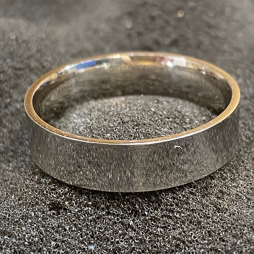 MENS  SOLID STERLING SILVER BAND 1