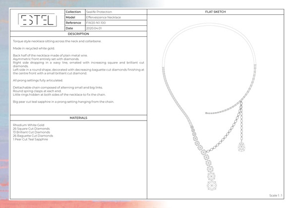Ocean Protection High Jewelry FW20-2116.