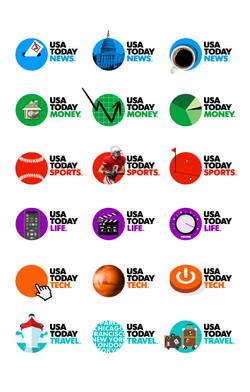 USA TODAY dynamic logo examples