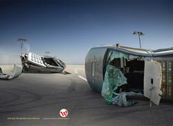 Wataniya Mobile Crash