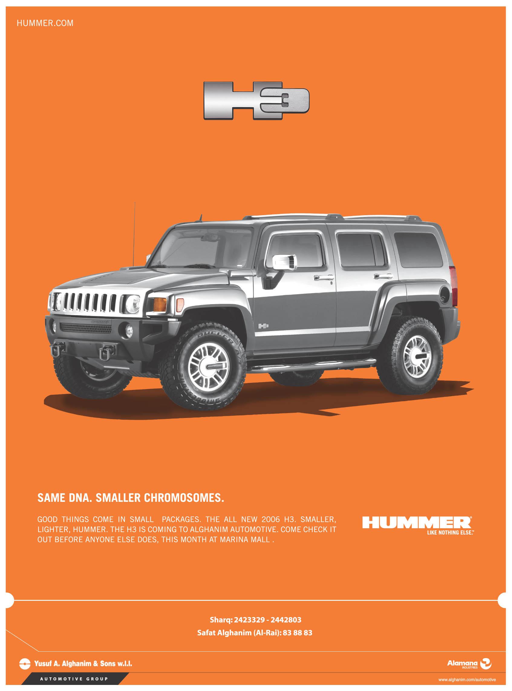Hummer H3 ad Kuwait