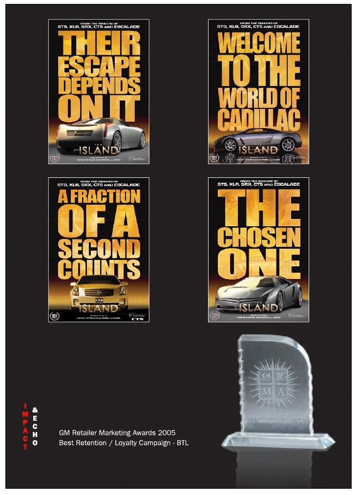 The Island - Cadillac campaign