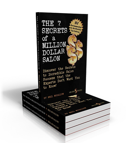 The 7 Secrets of a Million Dollar Salon book