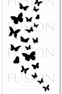 Cascade of Butterflies - #06