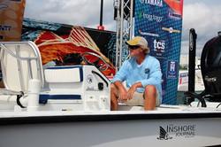rennie clark in tournament boat