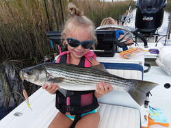 girl with striper