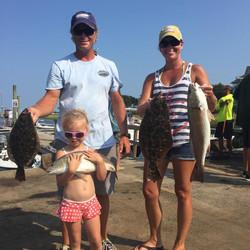 the clark fishing family