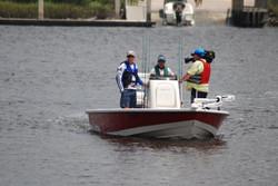 Capt. Rennie Clark on Boat