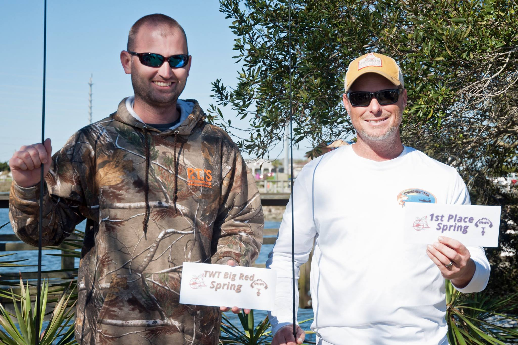 redfish tournament winners