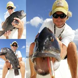 Capt. Rennie Clark Fishing