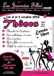 Deessed1jour partenaire pour les journée filles à Thônes