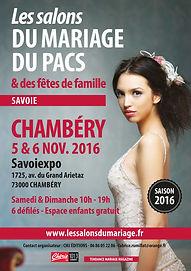 Deessed1jour présent sur le salon du mariage et du pascs 2016 à Chambéry