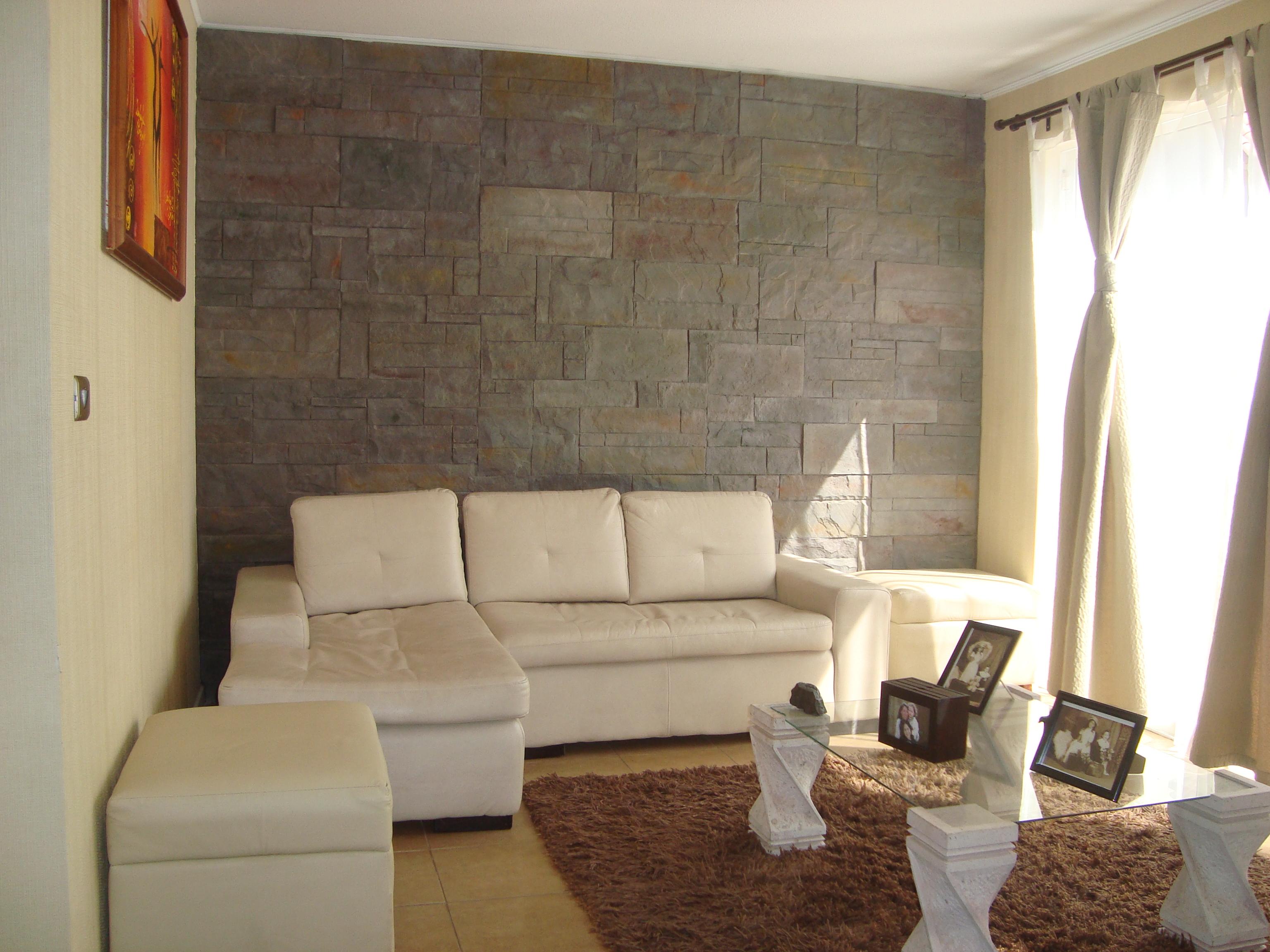 Lingote gris matiz oxido Casa Huechuraba
