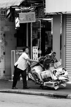 Woman Working 2012 Hong Kong