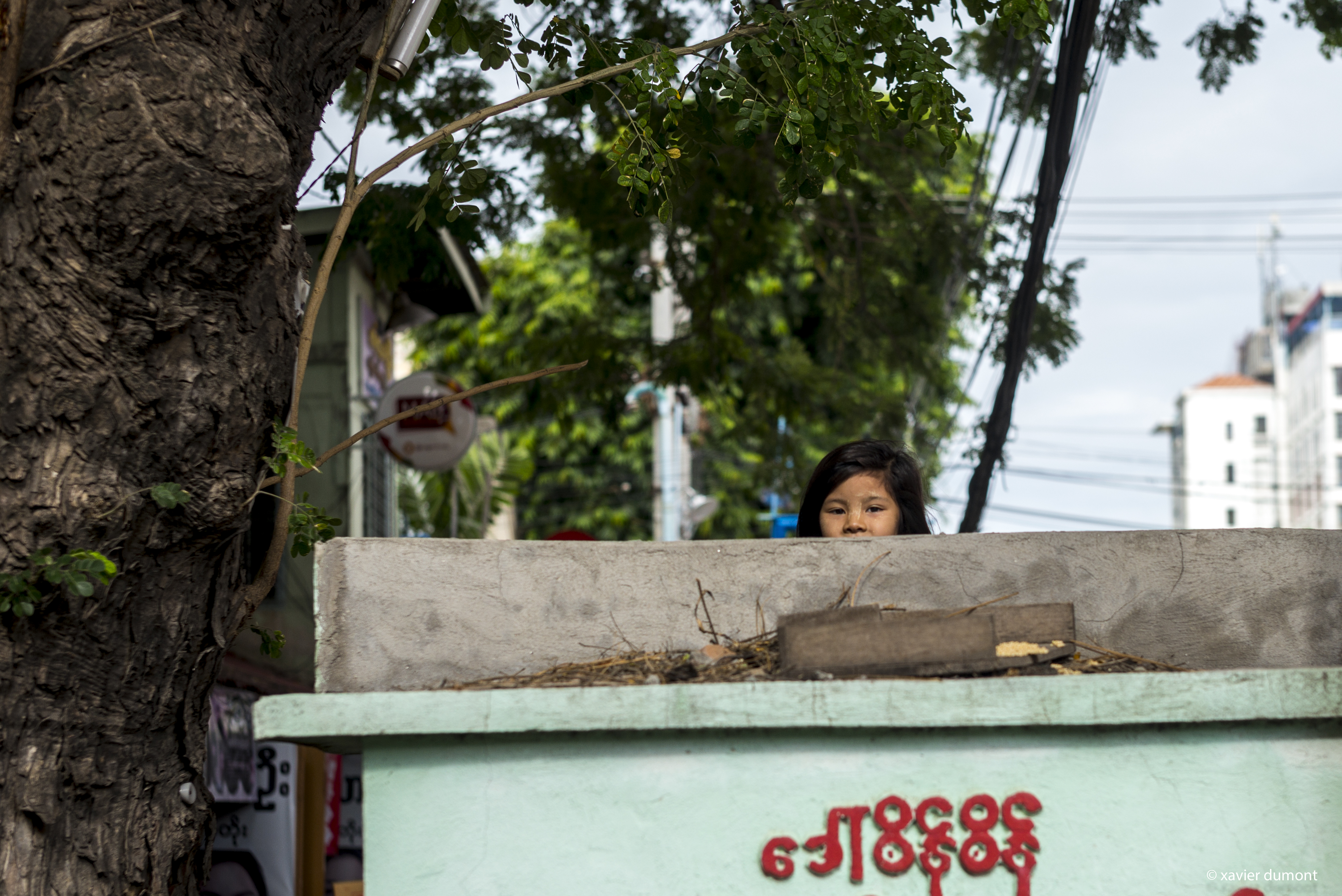 hide and Seek , 2017, Mandalay