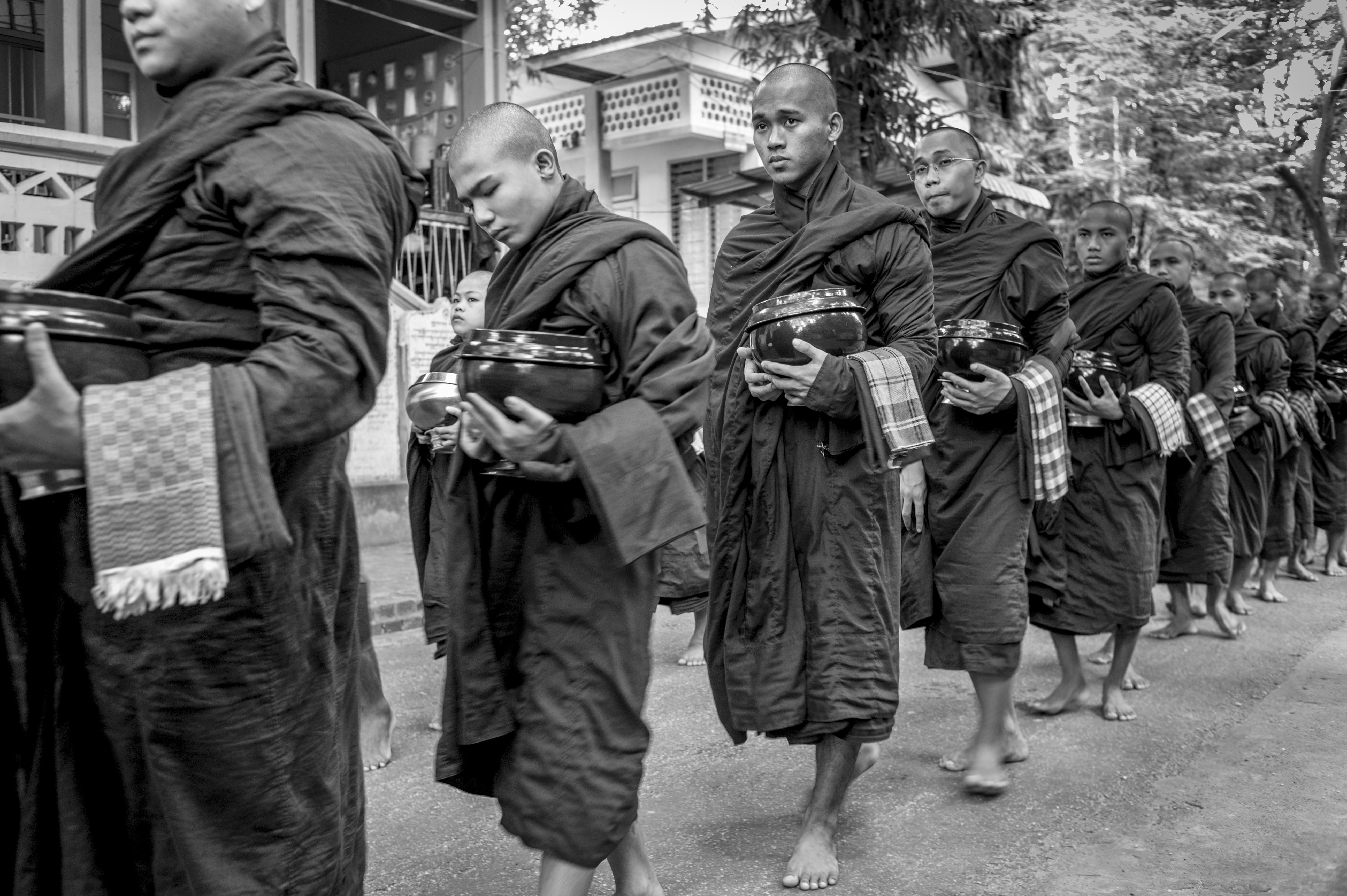 Monk, 2017, Yangon
