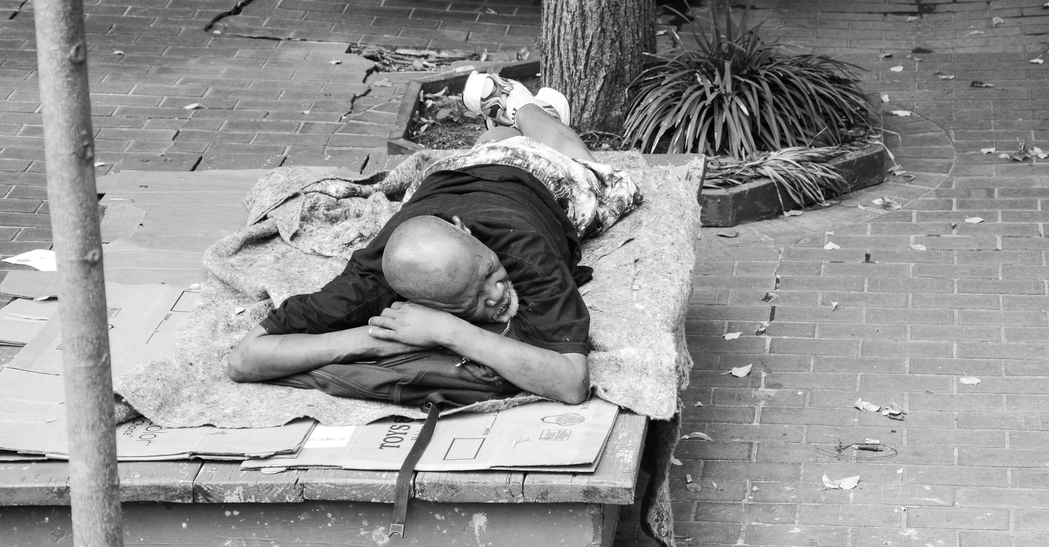 Homeless Sleep 2011 Washington