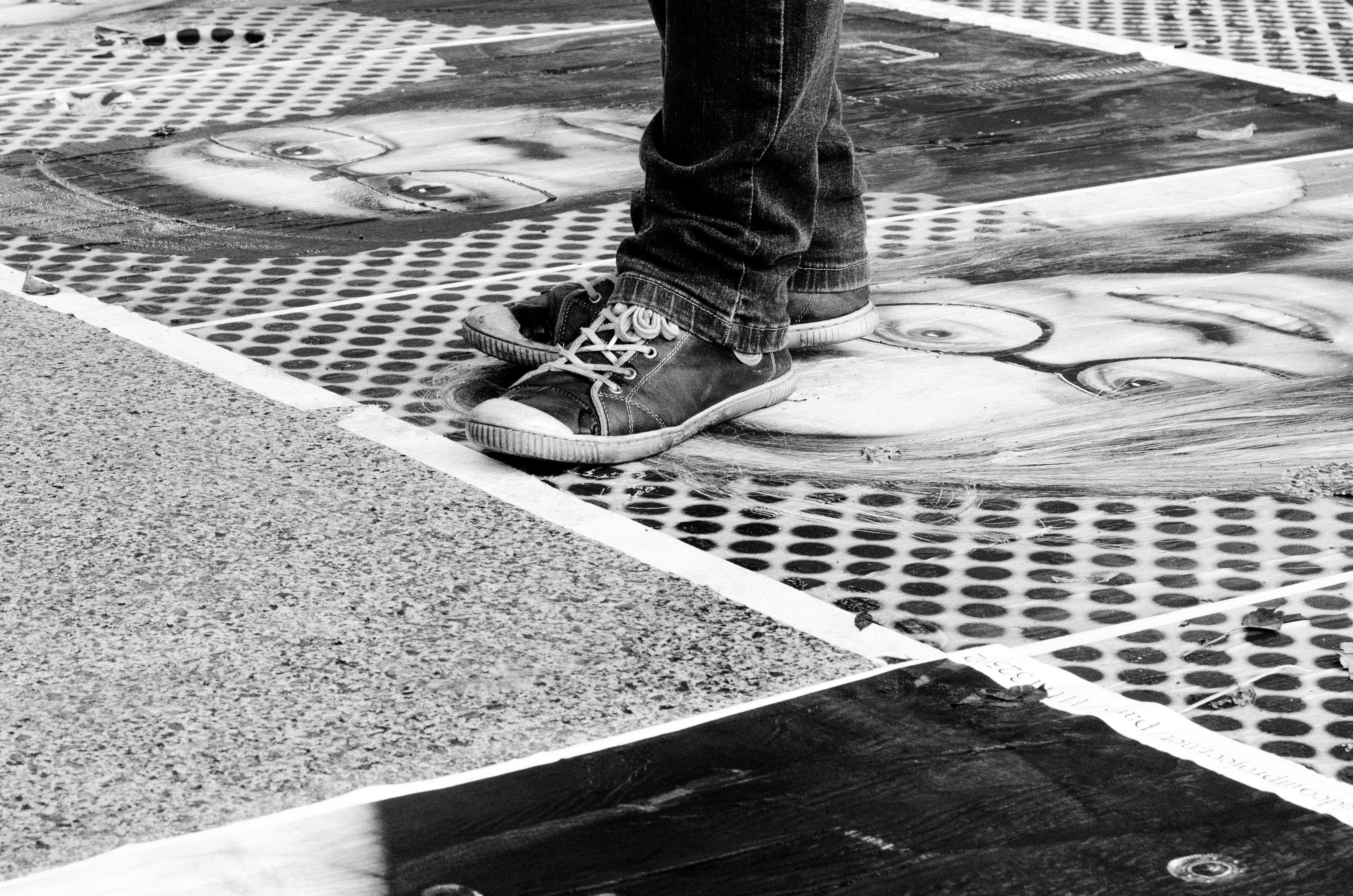 Trampling of Art , 2013, Paris