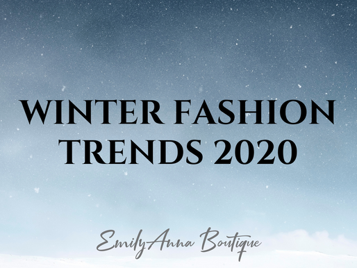 8 Winter 2020 Fashion Essentials You Need in Your Closet