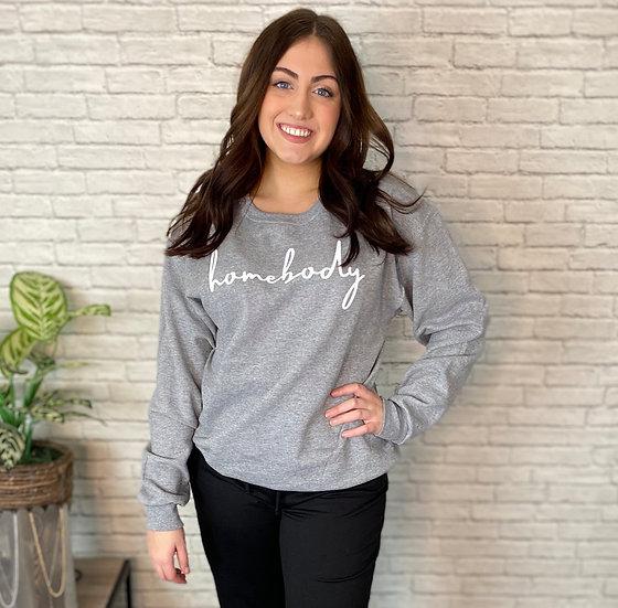 Homebody Graphic Sweatshirt - Sizes S - 2X