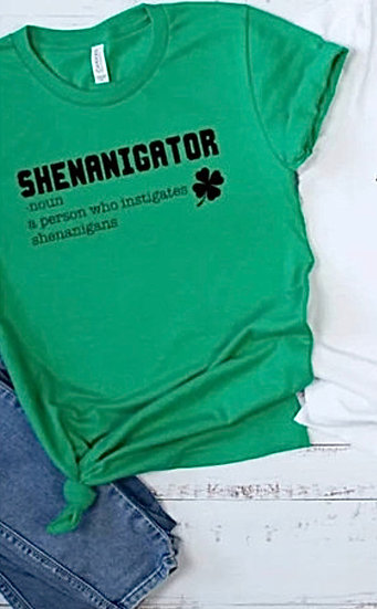 Shenanigator  - St. Pattys Day Graphic Tee