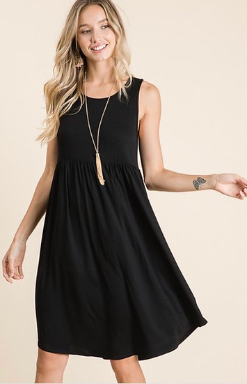 Black Flow Dress