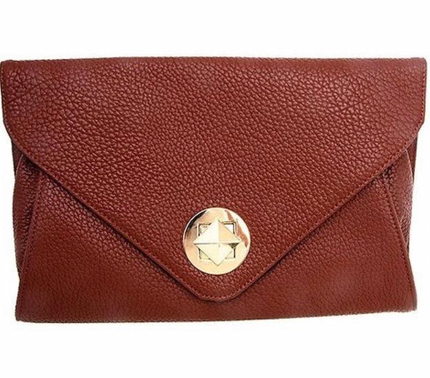 Tan Crossbody Bag or Clutch