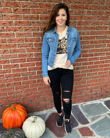 Graphic Tees are on trend and great for layering!