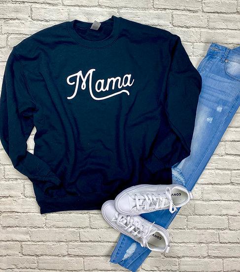 Mama Fleece Sweatshirt - Regular and Plus Sizes!