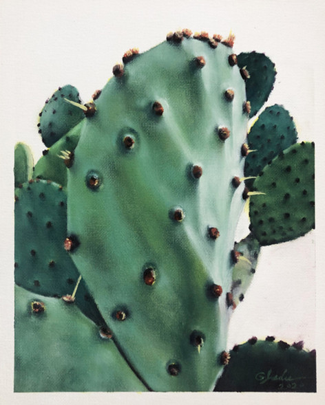 PRICKLY PEAR PORTRAIT - two