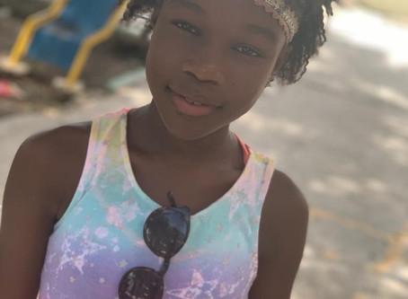 Beautiful Black Child Hair Care