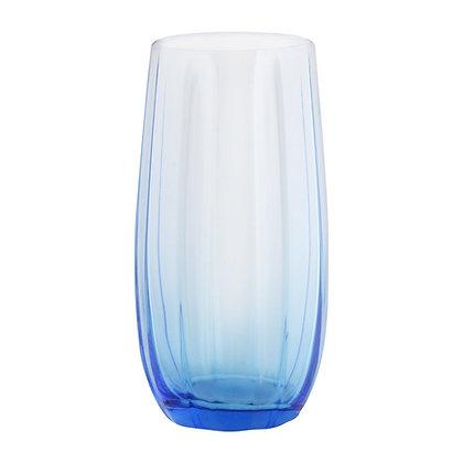 Set De 6 Vasos Largos De 16.9 oz (500 ml) Linka Azul Pasabahce