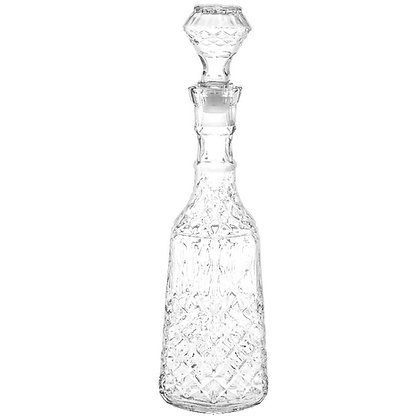 Licorera  Con Tapa De 1870 ml Diamante Cristar