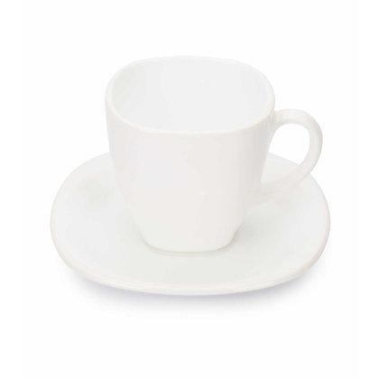 Set De 6 Ternos Para Cafe Carine Blanco Luminarc