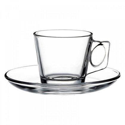 Set De 6 Ternos Para Cafe De 80 ml Vela Pasabahce