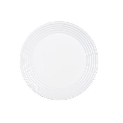 Plato Trinche Harena Blanco De 27 cm Luminarc