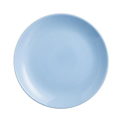 Plato Trinche Diwali Light Blue De 25 cm Luminarc