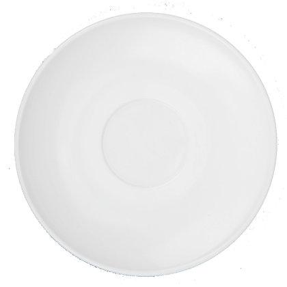 Plato Para Taza Restaurant White Luminarc