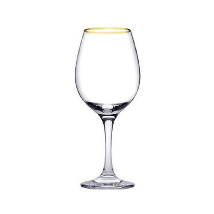 Set De 6 Copas Para Vino De 12.3 oz (365 ml) Amber Golden Pasabahce