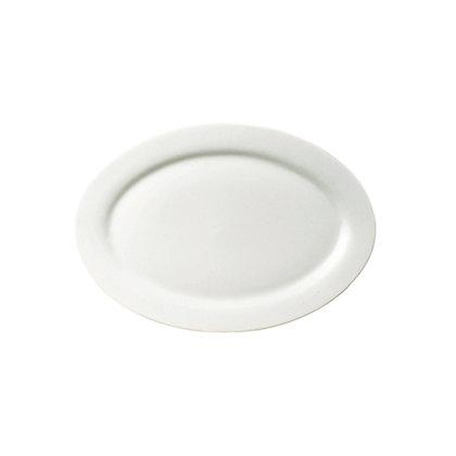 Fuente Platon Ovalado De 30 cm De Porcelana