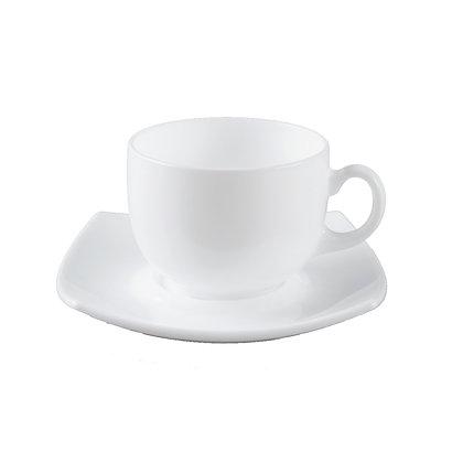 Set De 6 Ternos Para Cafe Quadratto Blanco Luminarc