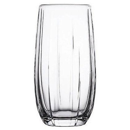 Set De 6 Vasos Largos De 16.9 oz (500 ml) Linka Black Pasabahce