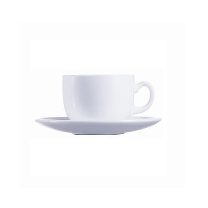 Set De 6 Ternos Para Cafe Evolution Blanco Luminarc