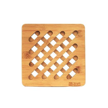Base Para Cosas Calientes Bamboo HUT