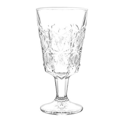 Copa Para Vino De 6 oz (180 ml) Diamante Cristar