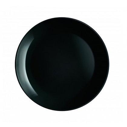 Plato Trinche Diwali Negro De 27 cm Luminarc