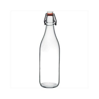 Botella De Vidrio De 1 Lts Basic Pasabahce