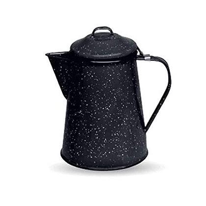 Cafetera Con Tapa De 600 ml Negra Cinsa