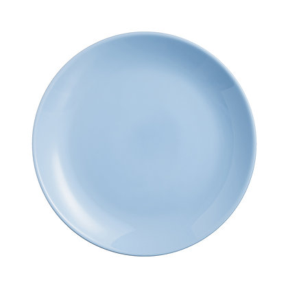 Plato Para Pastel Diwali Azul Light Blue Luminarc