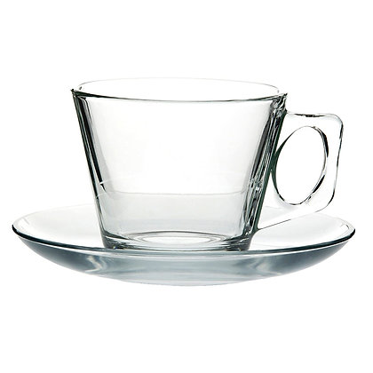 Set De 6 Ternos Para Cafe De 195 ml Vela Pasabahce